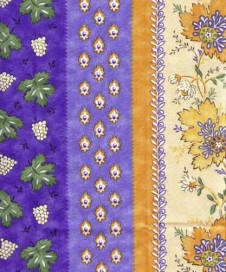 Blue Monaco by Le Cluny fabric piece #161