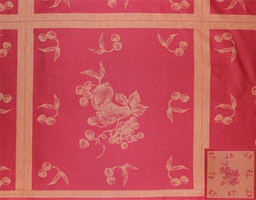 Jacquard woven fruit fabric #456