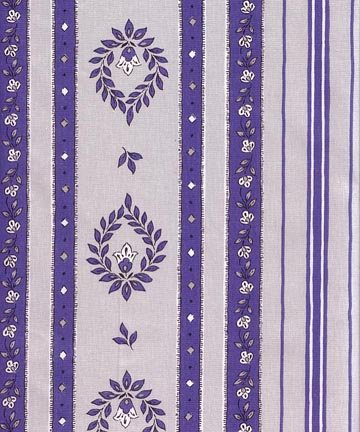 French Belgentier fabric (Blue border) #490