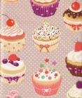 French cupcake fabric #522
