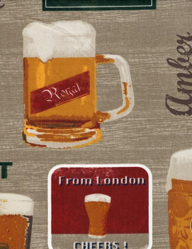 French Beer fabric #538
