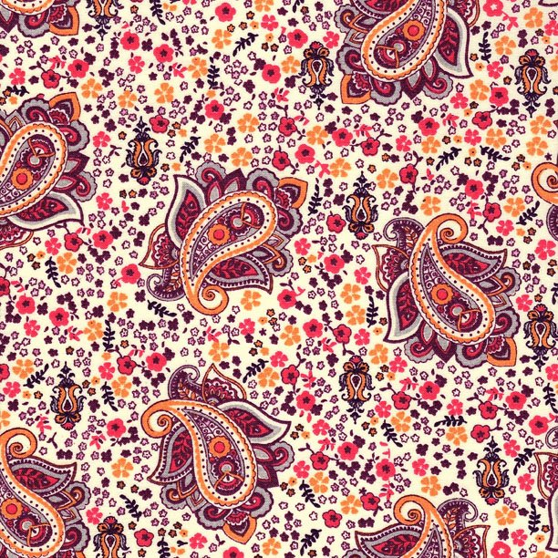 French Auban fabric (Pink) #562