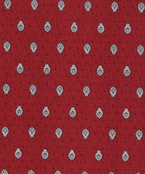 French Red Bastide quilt piece #586