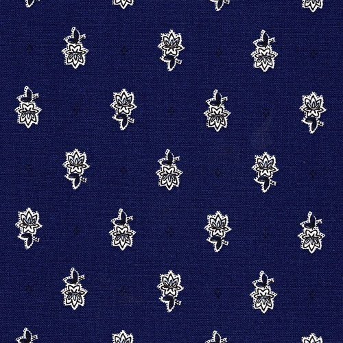 Cobalt blue Avignon fabric piece #588
