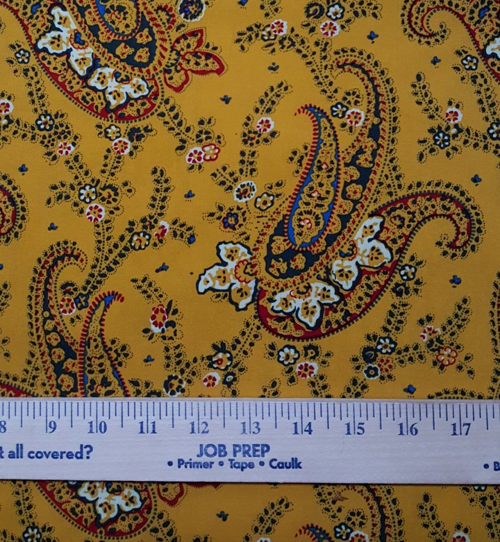 FQ Shirt-Weight Cotton French Fabric (yellow) #613