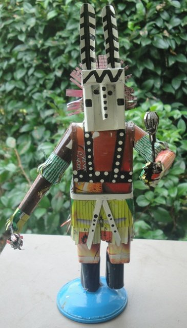 Dogon dancer #1 (Recycled Metal)