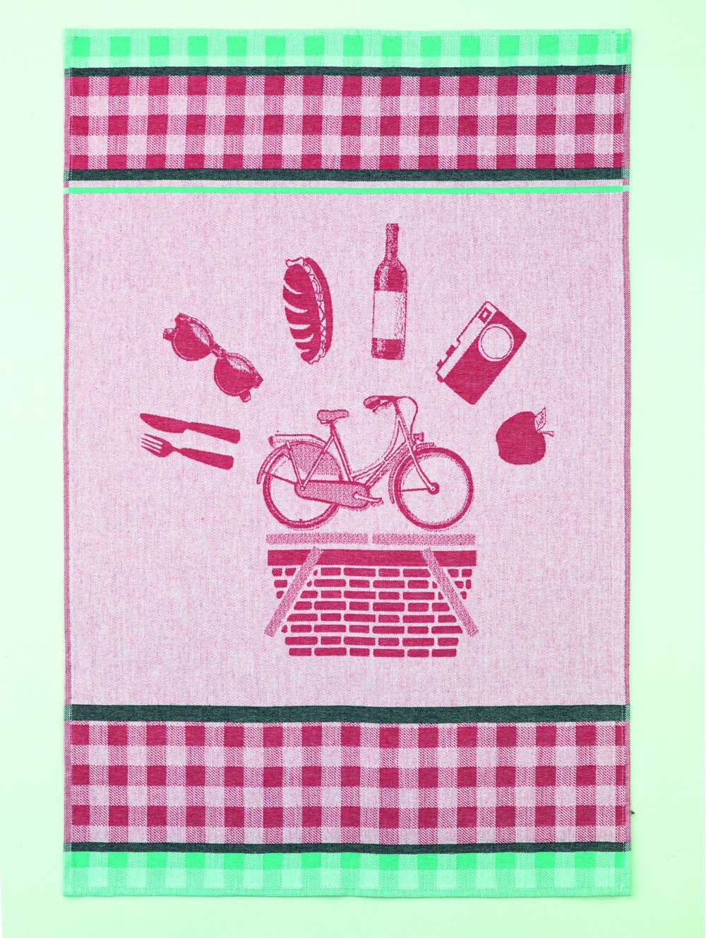 Coucke Retro Checkered tea towel #2
