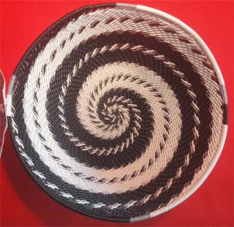5.5 Telephone Wire Basket #059