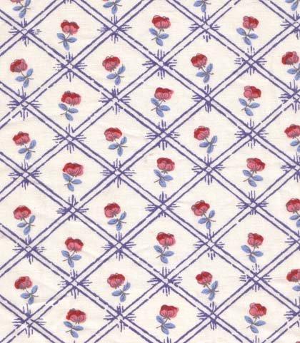 Souleiado Les Baux (blue) fabric France