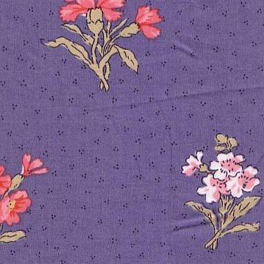 Souleiado blue herbier fabric (FRANCE)