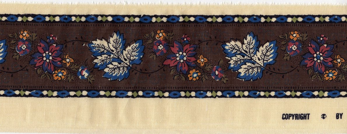 Souleiado 2.5-inch border trim (multicolored)