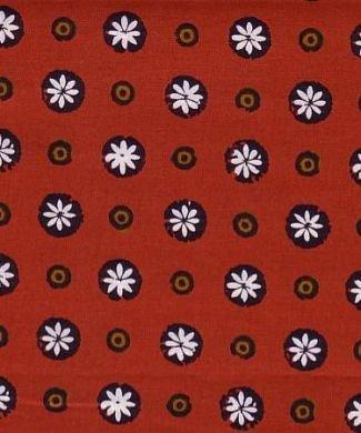 Souleiado Gigi red fabric (France)