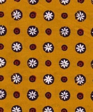 Souleiado Gigi gold fabric (France)