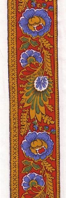 French Souleiado border fabric