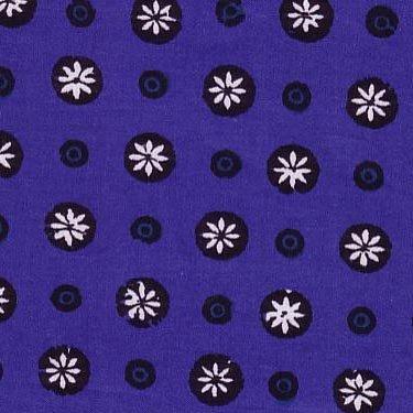 Souleiado Gigi blue fabric (France)