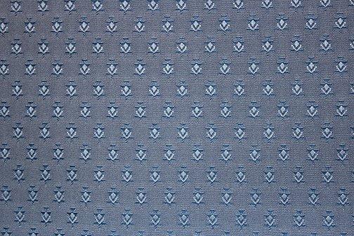 Souleiado blue upholstery fabric
