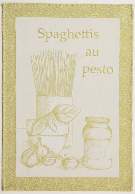 Coucke Spaghetti tea towel