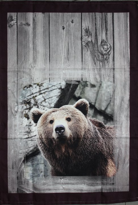 STOF Bear tea towel