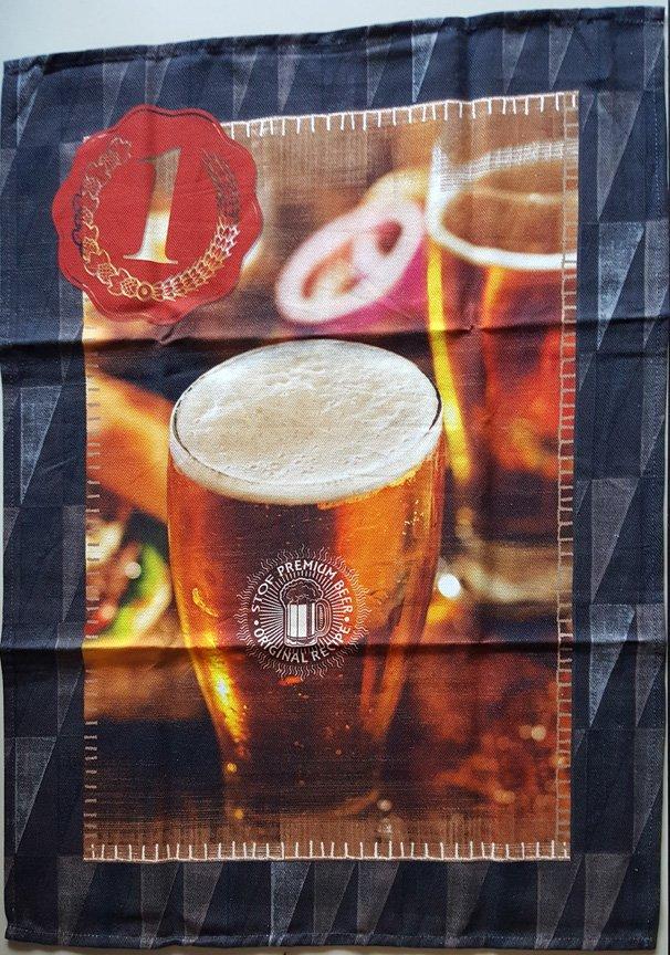 STOF Beer tea towel