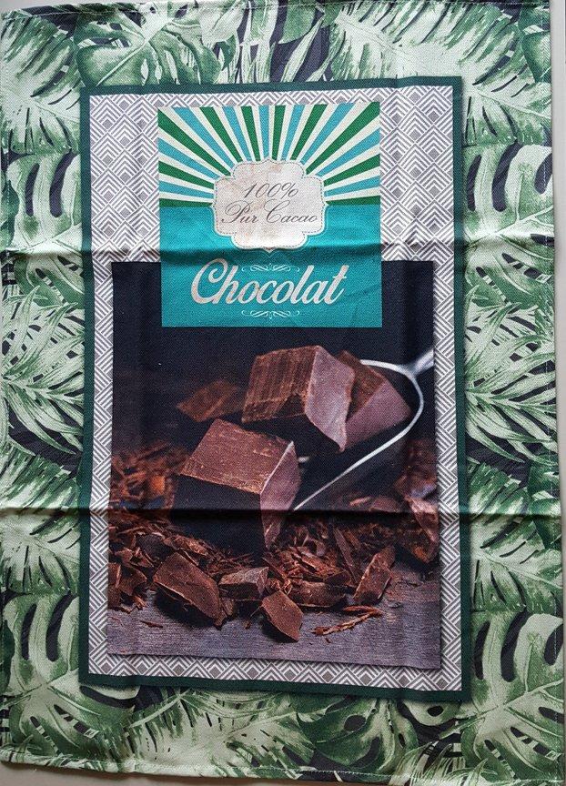 STOF Chocolate tea towel
