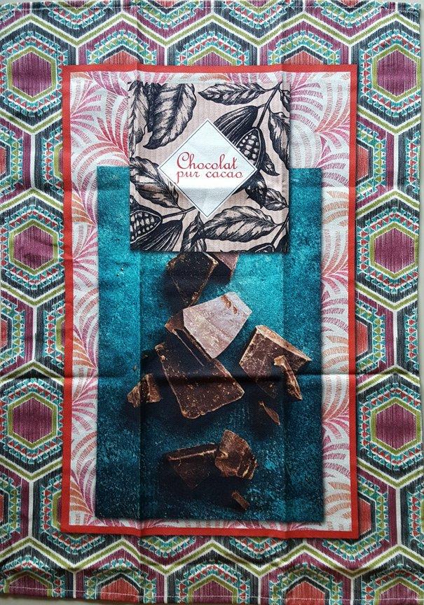 STOF Pure Chocolate tea towel