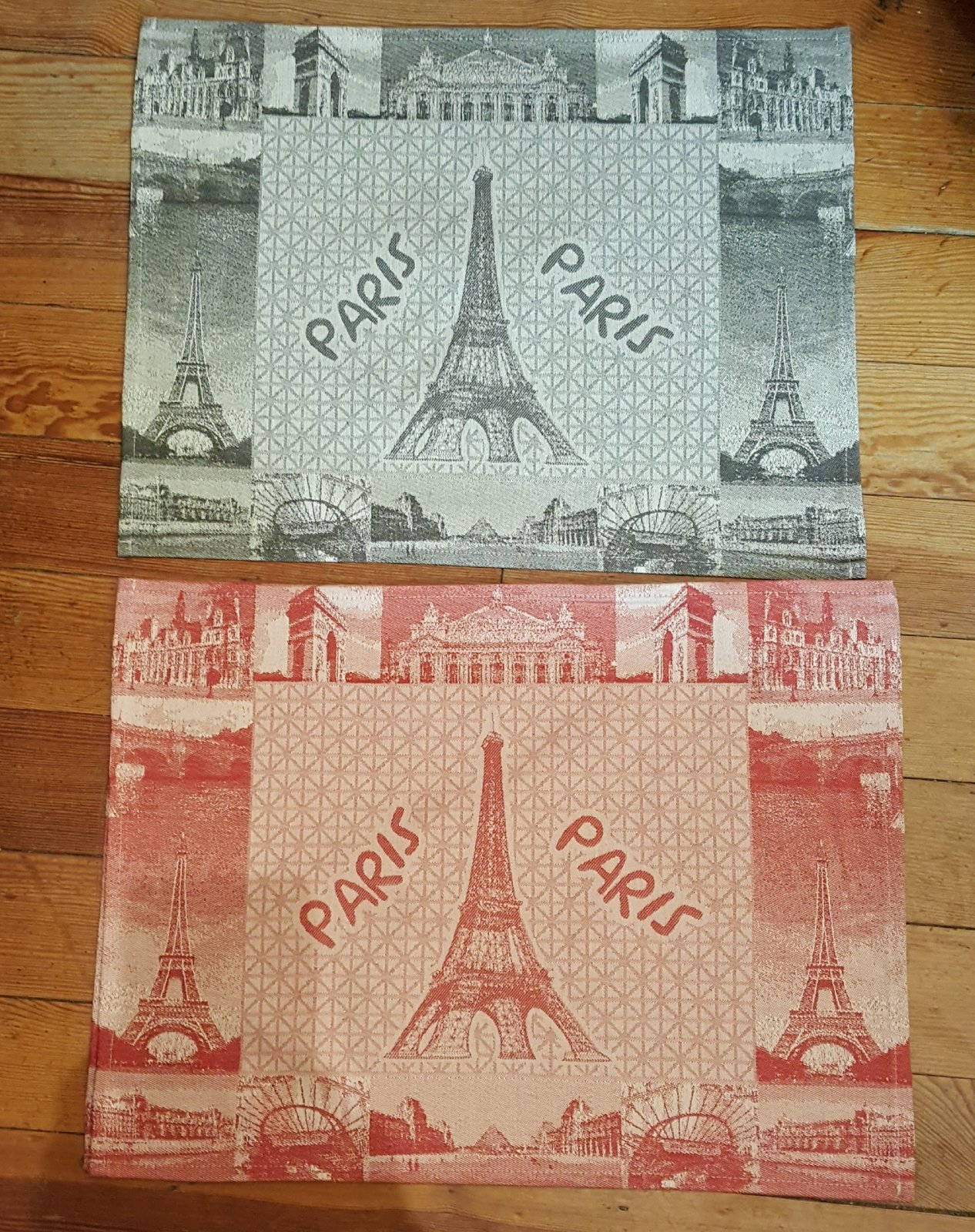 St Roch Paris placemat (red)