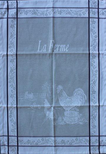 Tissage du Soleil Farm tea towel (tan)