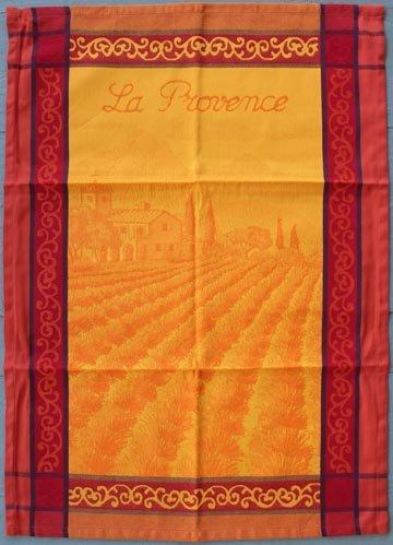 Tissage du Soleil Provence tea towel (gold)
