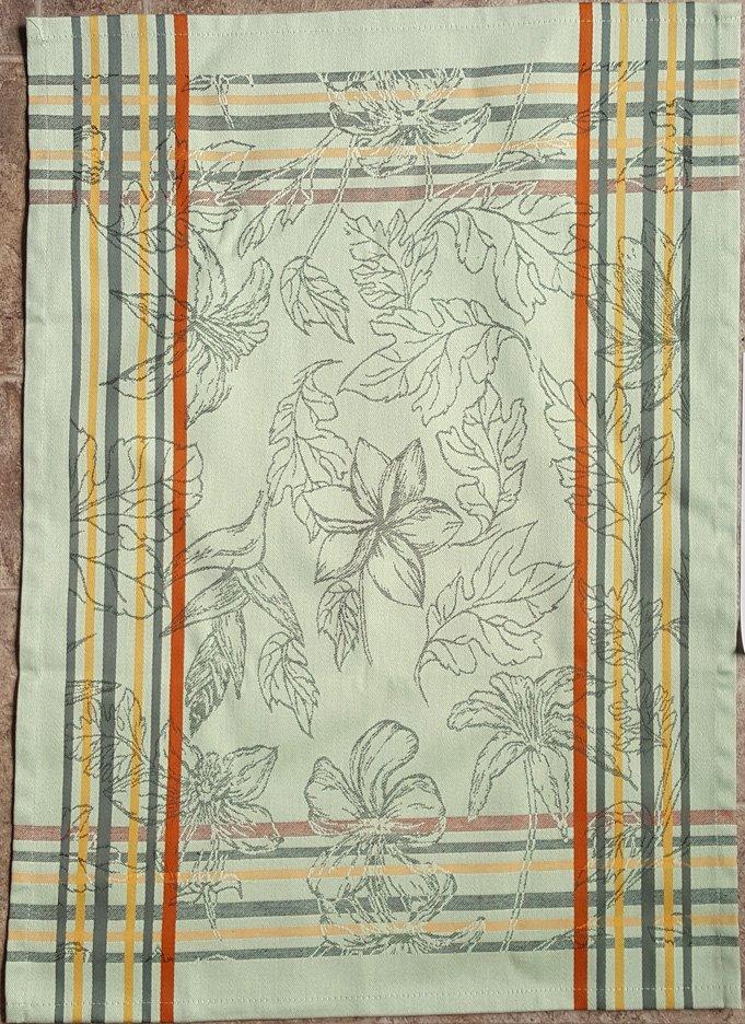 Tropical Tea Towel (Green)