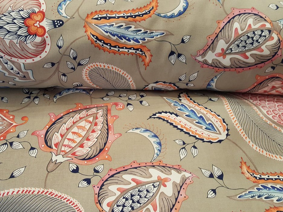 Bollywood Drapery fabric by Thevenon
