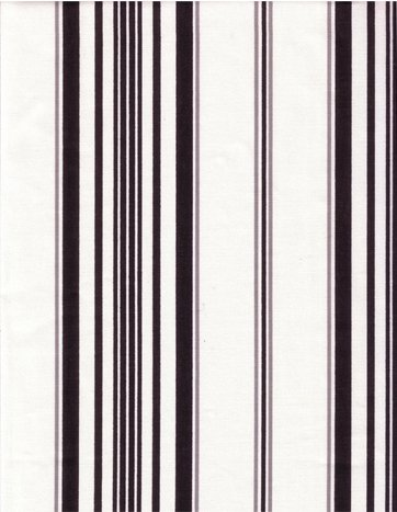 Black and White Striped Tonkin fabric