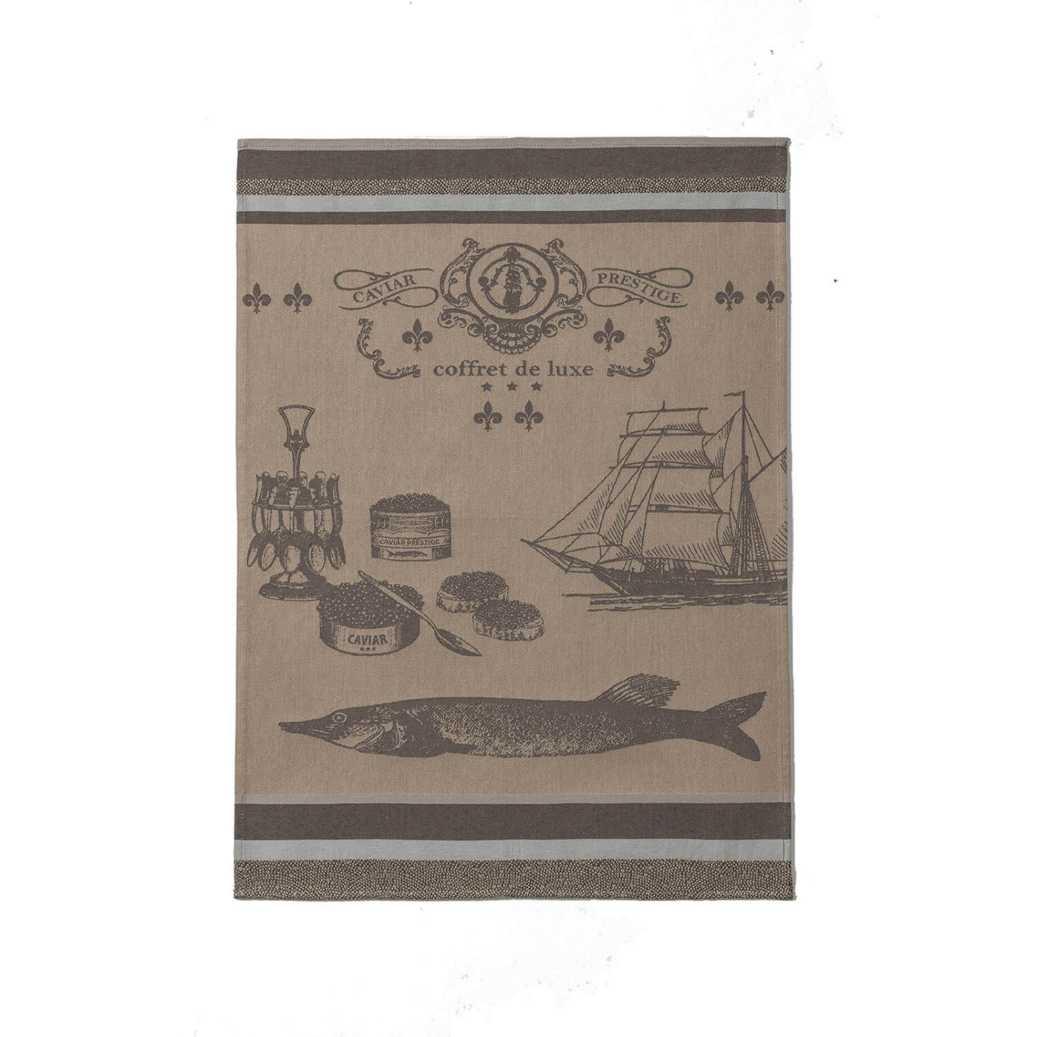 Coucke Caviar tea towel