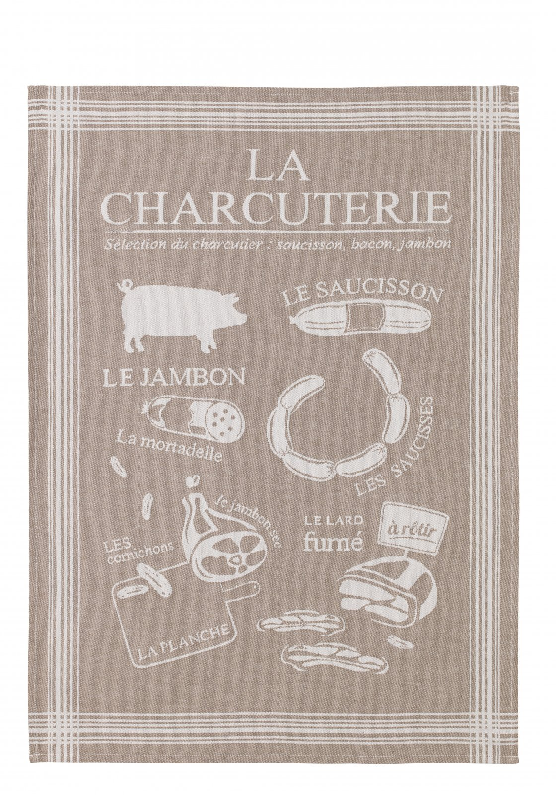 Coucke Charcuterie tea towel #2