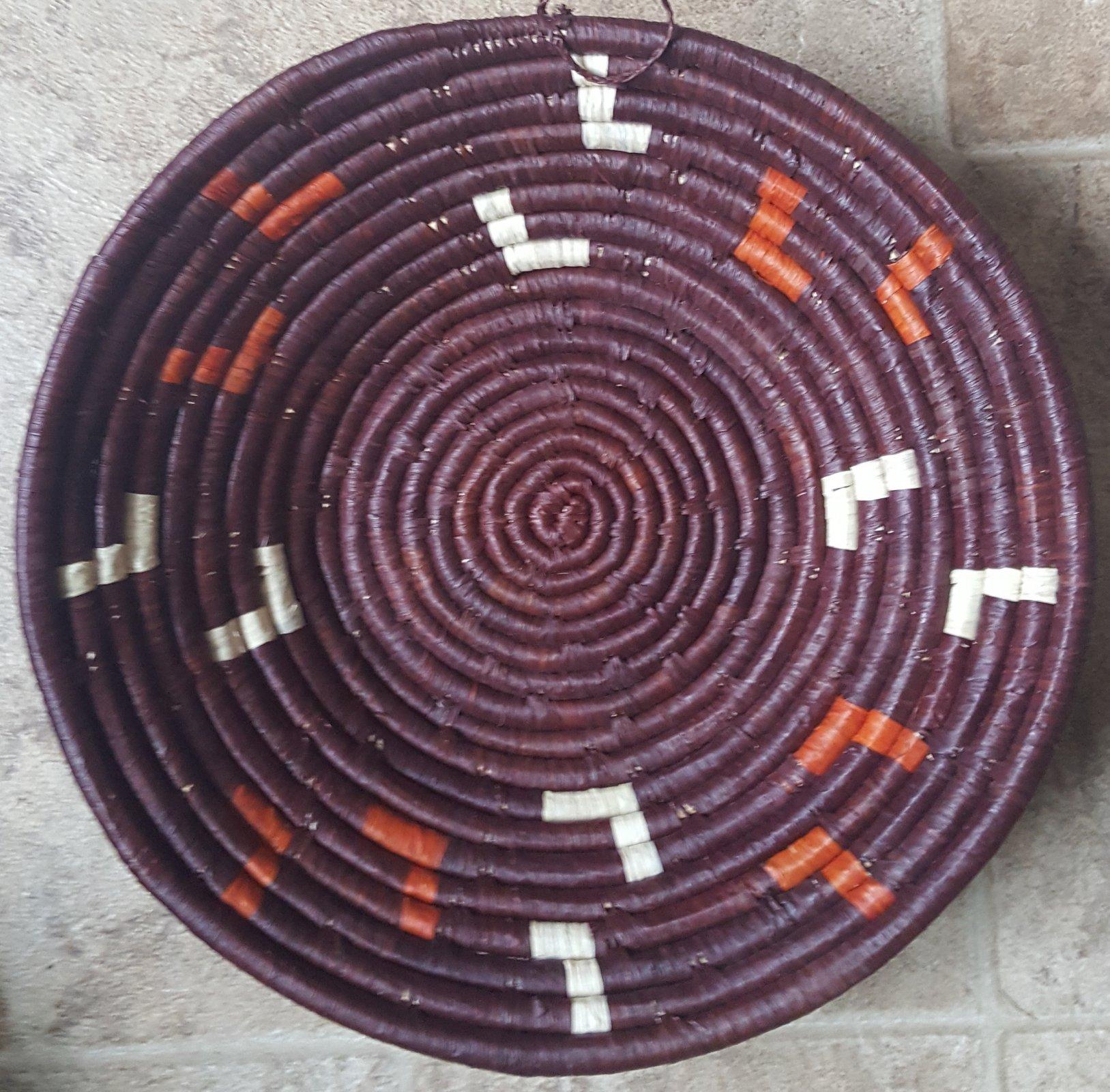 10 Uganda Dark Wine Basket #010