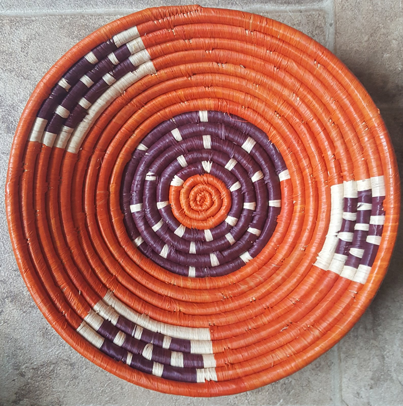 10 Uganda Basket Multi-Colored Small #009