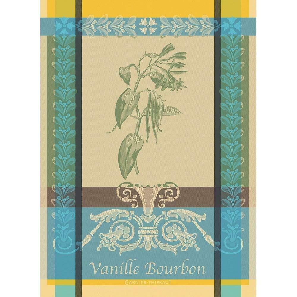 Garnier-Thiebaut Vanilla tea towel