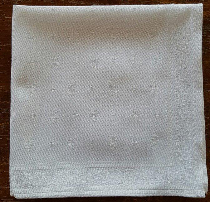 Bastide Jaquard Napkin (White)
