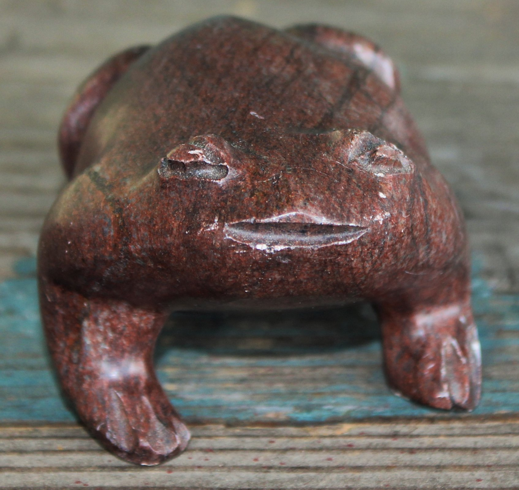 Shona Art Carved Frog - Zimbabwe