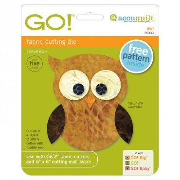 55333 Accuquilt Owl /Go
