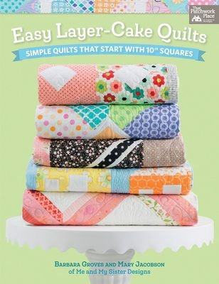 B1418 Easy Layer Cake Quilts