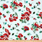C1283 Frsh Cut, Poppies, White '