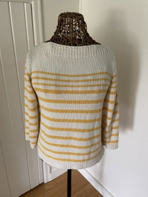 Breton Striped Pullover in Anchor Bay