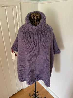 Azel Pullover in Hayfield Super Chunky with Wool