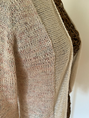 Feather Featherweight in Rustic Silk and Lace Lux