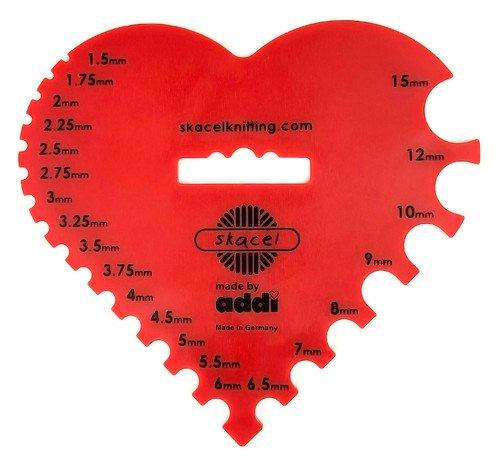 addi Needle Gauge - Heart