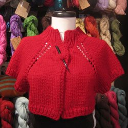 knot another hat bulky raglan bolero (.pdf download)