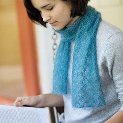 churchmouse english mesh lace scarf