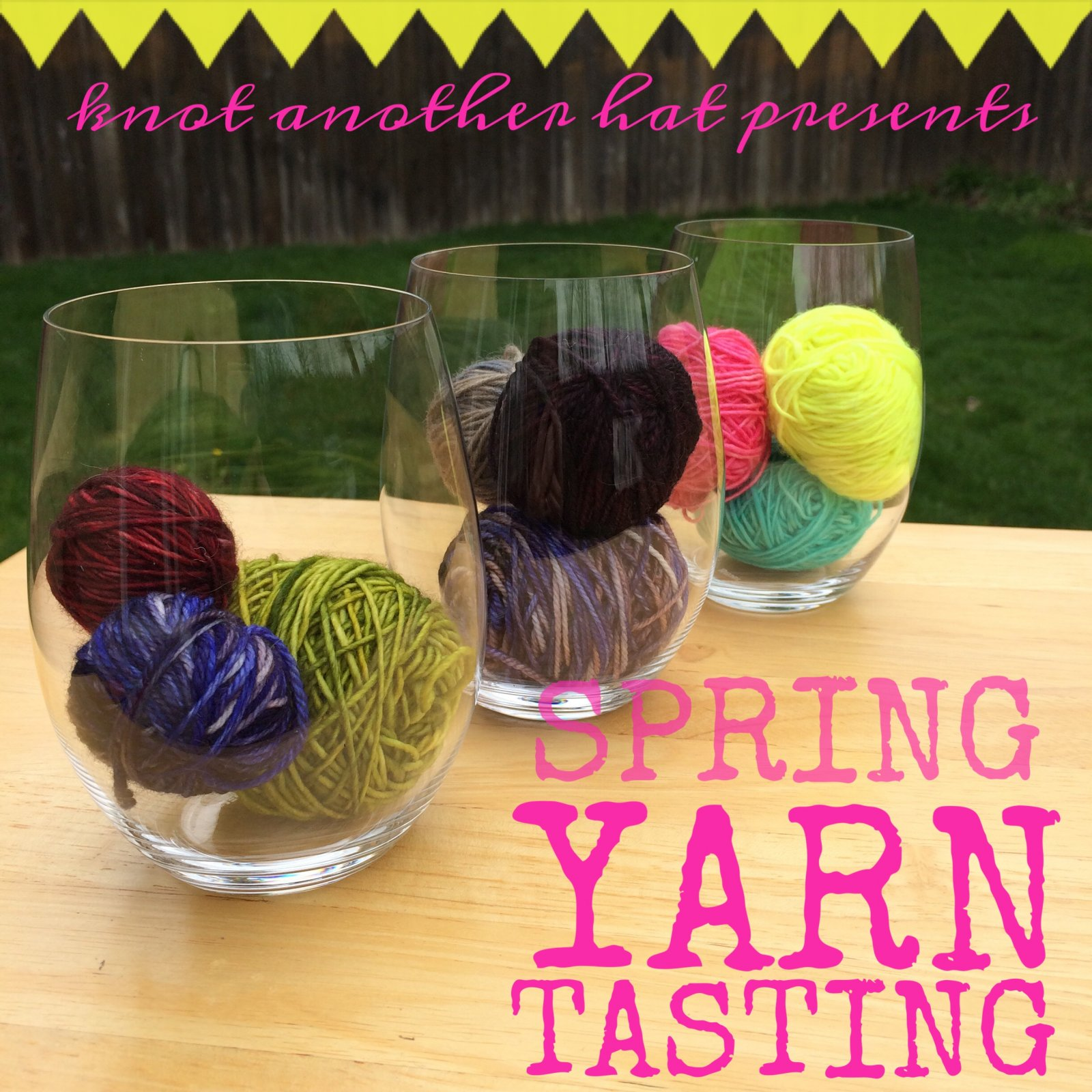 Spring Yarn Tasting