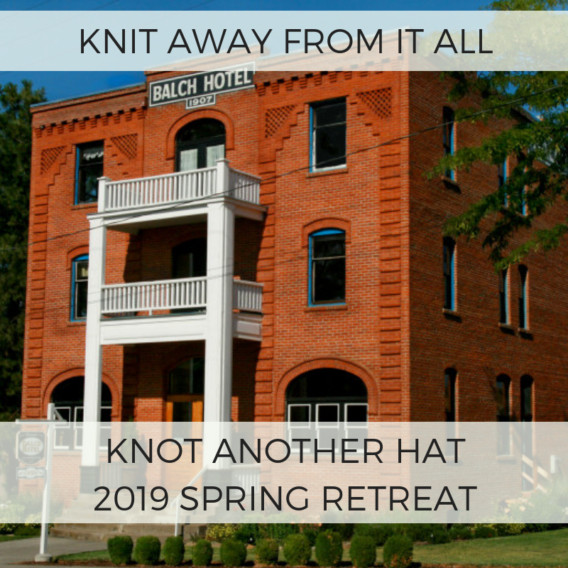 knit away from it all: all-inclusive weekend retreat