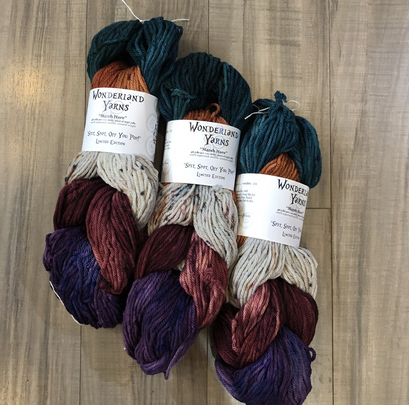 wonderland yarns march hare pack of the month